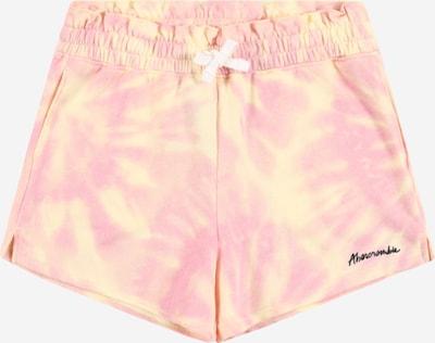 Pantaloni Abercrombie & Fitch di colore giallo / rosa chiaro, Visualizzazione prodotti