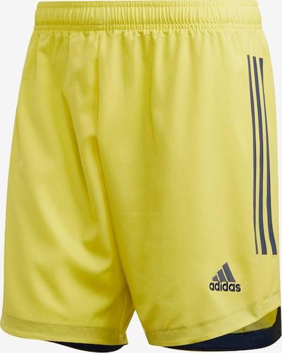 ADIDAS PERFORMANCE Sportshorts 'Condivo 20' in gelb / schwarz, Produktansicht