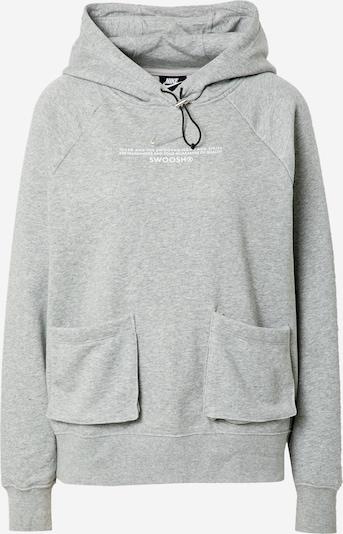 Nike Sportswear Dressipluus meleeritud hall / valge, Tootevaade