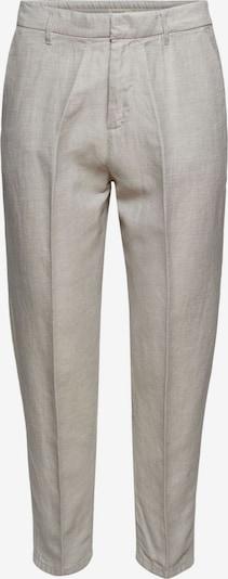 ESPRIT Pantalon à plis en blanc cassé, Vue avec produit