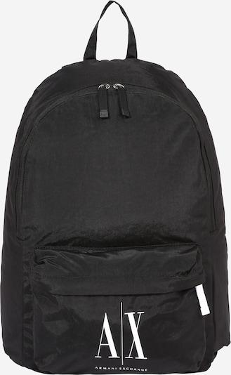 ARMANI EXCHANGE Rucksack in schwarz / weiß, Produktansicht