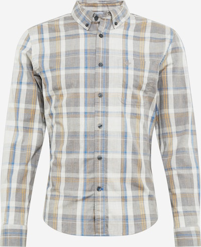 Dockers Shirt 'ALPHA' in blue / yellow / grey / light grey, Item view