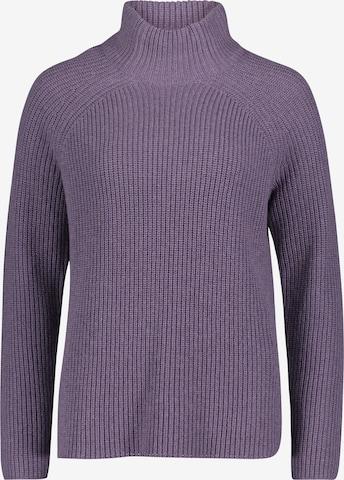 Cartoon Sweater in Purple
