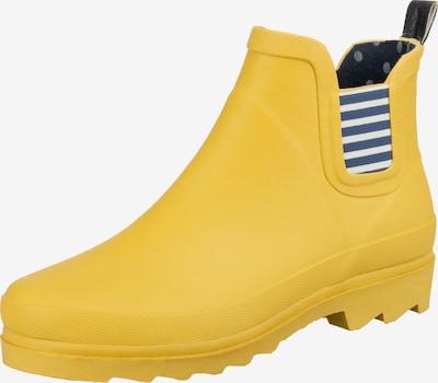 Inselhauptstadt Gummistiefel in navy / gelb / weiß, Produktansicht