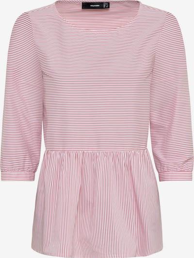 HALLHUBER Bluse in hellpink / weiß, Produktansicht