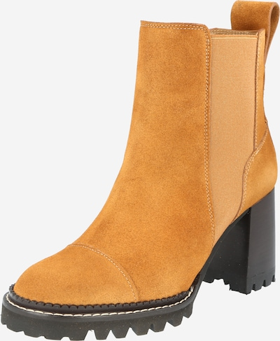 See by Chloé Stiefelette 'Mallory' in cognac, Produktansicht