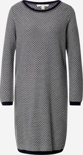 ESPRIT Pletena haljina u mornarsko plava / bijela, Pregled proizvoda