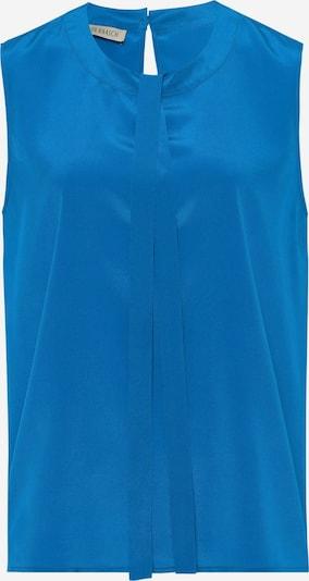 Uta Raasch Bluse mit Seide in blau, Produktansicht