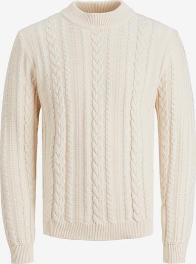 JACK & JONES Pullover 'ALBERT' in wollweiß, Produktansicht