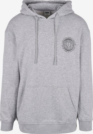 Urban Classics Пуловер 'Globetrotter' в сив меланж / черно, Преглед на продукта