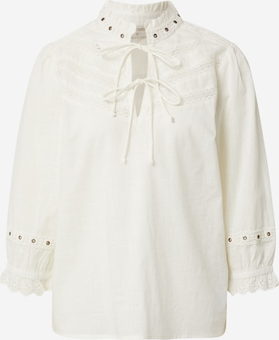 Bluză Cream pe galben deschis, Vizualizare produs