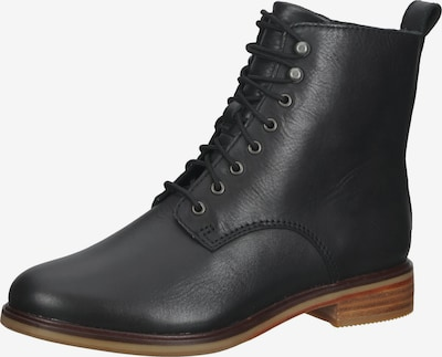 CLARKS Lace-Up Ankle Boots in Black, Item view