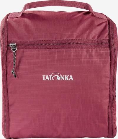 TATONKA Kulturtasche 'DLX ' in bordeaux / weiß, Produktansicht