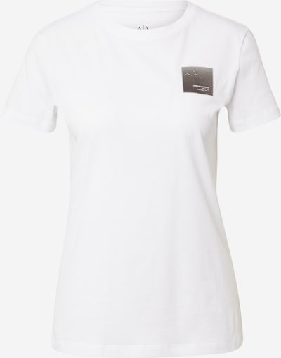 ARMANI EXCHANGE T-shirt '3KYTKA' en noir / blanc, Vue avec produit