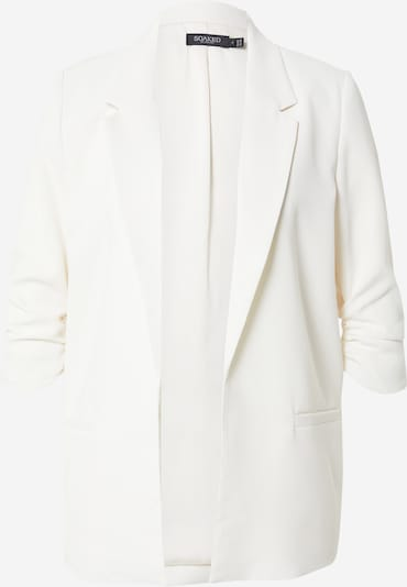 SOAKED IN LUXURY Blazer 'Shirley' en blanc, Vue avec produit