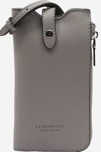 Seidenfelt Manufaktur Smartphonehülle 'Moss' in grau, Produktansicht