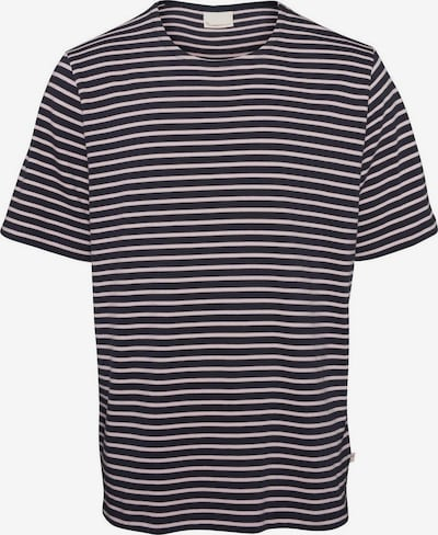 KnowledgeCotton Apparel T-Shirt ' Striped ' in rosa / schwarz, Produktansicht