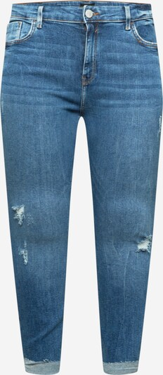River Island Plus Jeans 'Amelie' in blue denim, Produktansicht