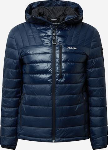 Calvin Klein Between-Season Jacket in Blue