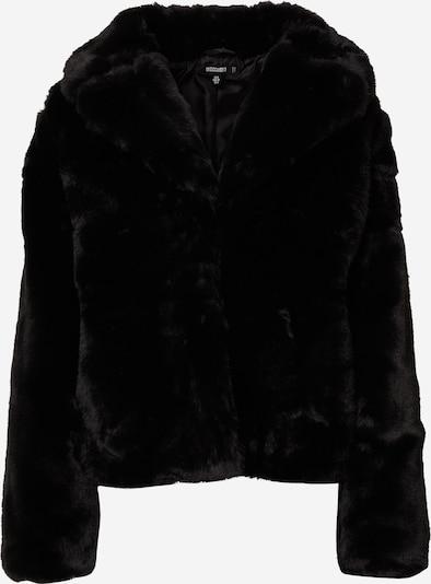 Missguided Wintermantel in de kleur Zwart, Productweergave