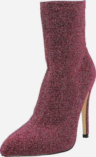 Public Desire Stiefelette in rosé / silber, Produktansicht