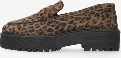 Tango Loafers in braun / schwarz, Produktansicht