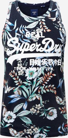 Superdry Shirt in de kleur Navy / Gemengde kleuren, Productweergave