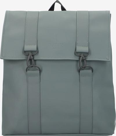 RAINS Rucksack 'MSN Bag' in oliv / schwarz, Produktansicht