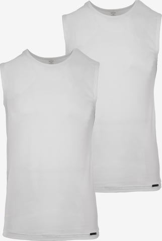 Maillot de corps ' Collegeshirt 'RED 1601' 2-Pack ' Olaf Benz en blanc