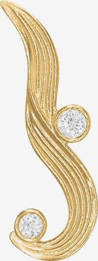 Polar Jewelry Oorbellen 'The Darning Needle' in de kleur Goud, Productweergave