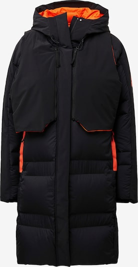 ADIDAS PERFORMANCE Manteau outdoor 'My Shelter' en orange fluo / noir, Vue avec produit