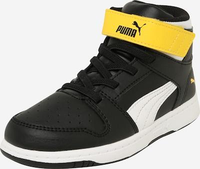 PUMA Sneakers 'Rebound Layup' in yellow / black / white, Item view