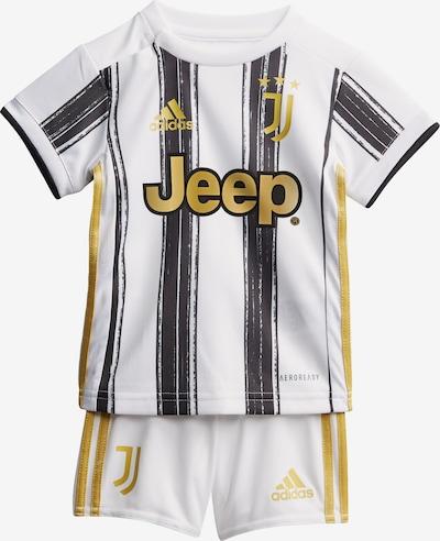 ADIDAS PERFORMANCE Sportanzug 'Juventus Turin' in goldgelb / schwarz / weiß, Produktansicht
