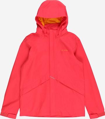 VAUDE Outdoor jacket 'Escape' in Red