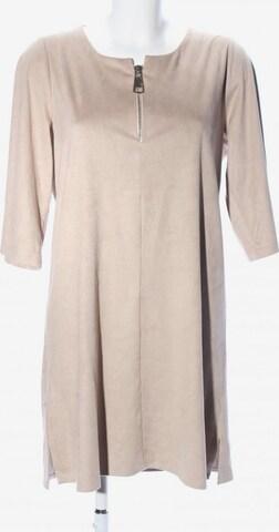 MONACO blue A-Linien Kleid in L in Beige