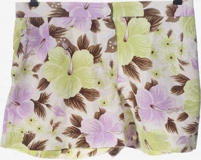 Trigema Hot Pants in XL in braun / lila / weiß, Produktansicht