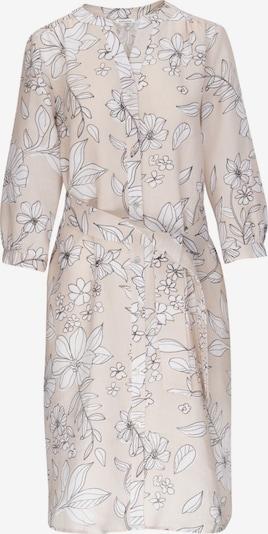 SEIDENSTICKER Kleid 'Schwarze Rose' in beige / weiß, Produktansicht
