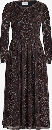 Vera Mont Kleid in beige / braun / schwarz, Produktansicht