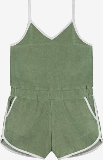Salopetă 'Braga' Shiwi pe verde deschis / alb, Vizualizare produs