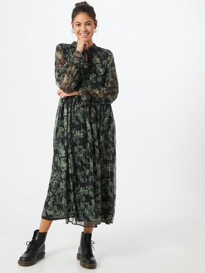b.young Kleid in grün / schwarz / silber, Modelansicht
