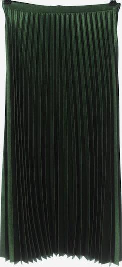 ZARA Plisseerock in XS in grün, Produktansicht