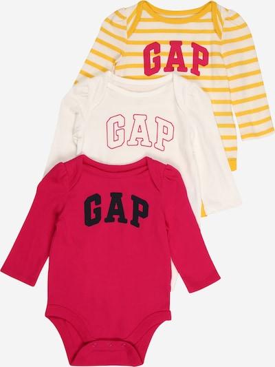 GAP Barboteuse / body en jaune / rose / rose foncé / noir, Vue avec produit