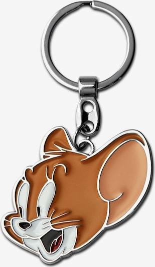 LOGOSHIRT Schlüsselanhänger 'Jerry' in braun, Produktansicht