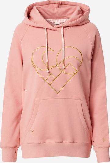 Femi Stories Sweatshirt 'KARO' in gold / pink, Produktansicht