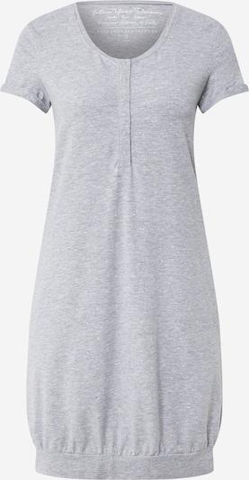 ESOTIQ Koszula nocna 'DAZZLE' w kolorze nakrapiany szary / białym, Podgląd produktu