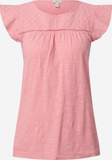 ESPRIT T-Shirt 'EMBRO' in pinkmeliert, Produktansicht