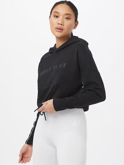 ONLY PLAY Sportsweatshirt 'JODINA' in schwarz: Frontalansicht