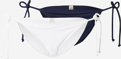 Dorina Bas de bikini 'Cambria' en bleu marine / blanc, Vue avec produit