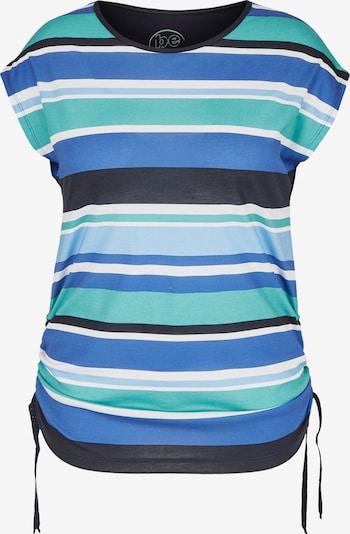 FRAPP T-Shirt in rauchblau / nachtblau / himmelblau / jade / weiß, Produktansicht