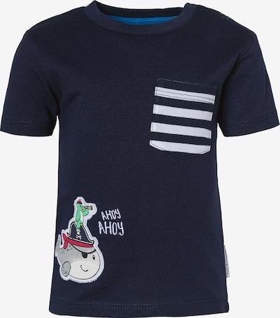 SALT AND PEPPER T-Shirt in dunkelblau / grau / grün / rot / weiß, Produktansicht